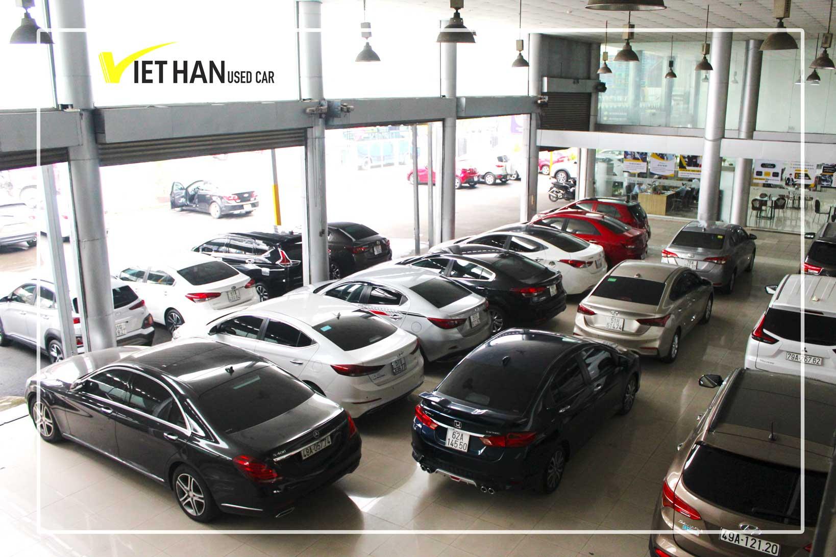 Dịch vụ thu mua xe ô tô cũ giá cao, thủ tục nhanh chóng